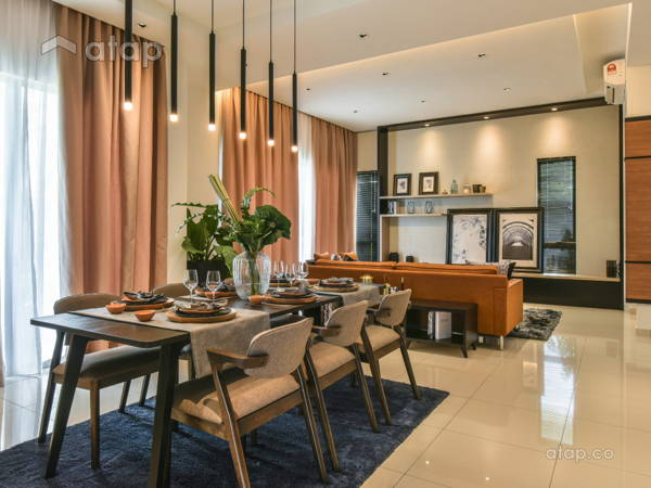 Contemporary Dining Room@Gamuda Garden 1B
