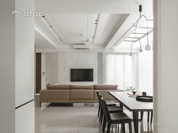Minimalistic Modern Dining Room Living Room@ABOVE THE REST - Double storey