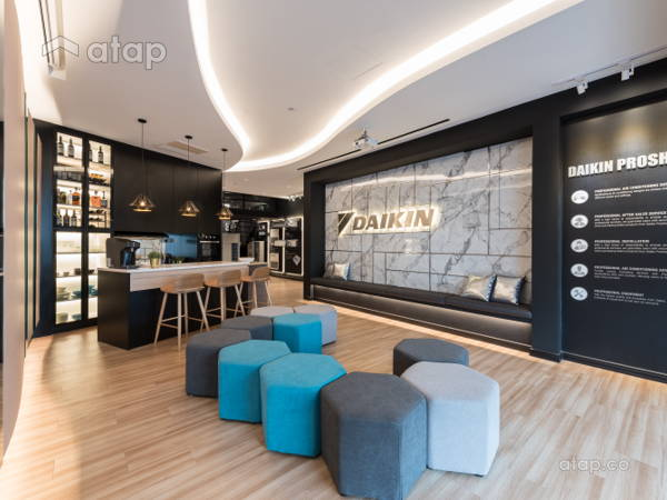 Contemporary Modern Retail@Daikin Proshop
