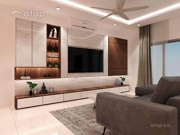 Contemporary Minimalistic Living Room@TAMAN BANTING MEWAH, BANTING