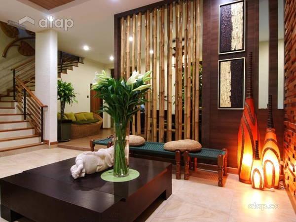 Zen Living Room Hijauan