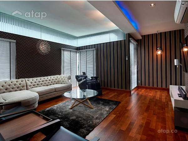 Contemporary Modern Living Room@ Residence @ Subang Saujana Resort