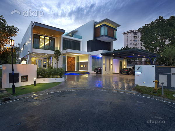 Contemporary Modern Exterior@Norman's Residence