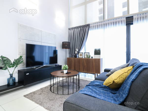 Contemporary Scandinavian Living Room@M City @ Ampang