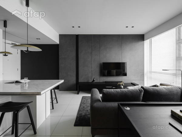 Contemporary Modern Kitchen Study Room@526 sqft - Soho, KL