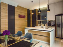 Contemporary Modern Kitchen@Adda Height, Johor Bahru (1)