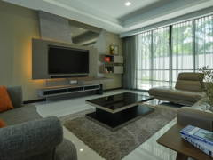 Contemporary Modern Living Room@Design & Built