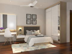 Contemporary Modern Bedroom@Eco Spring Bradford