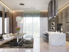 Classic Modern Kitchen@Bungalow Jalan Topaz