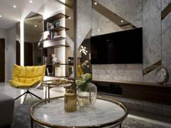 Contemporary Modern Living Room@The Rainz 34