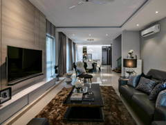 Contemporary Modern Living Room@Armada Villa 39