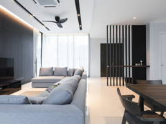 Contemporary Modern Dining Room Living Room@Ficus Peak, Denai Alam