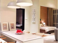 Minimalistic Bedroom@Adda Heights Show Unit (1A)
