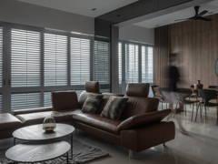 Minimalistic Modern Living Room@Tour de force
