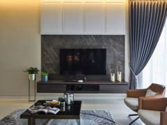 Classic Modern Living Room@Modern Classic House