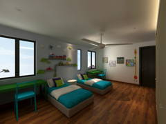 Bedroom F&B@Nature Tropical Homed