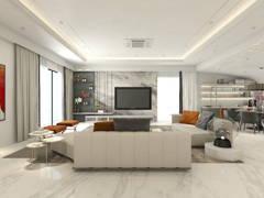 Classic Modern Living Room@Grandeur of Belle @ Qaseh 1, Bandar Kinrara 8, Puchong
