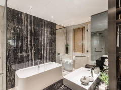 Contemporary Modern Bathroom@The Naturalist