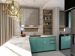 Modern Kitchen@THE RAFFLESIA, DAMANSARA PERDANA