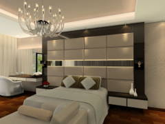 Contemporary Bedroom@Damai Condominium @ Mont Kiara, KL