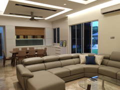 Contemporary Modern Dining Room Living Room@Project Idaman
