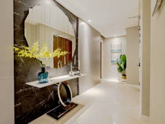 Contemporary Foyer@Comtemporary Sleek Residence, The Astaka JB