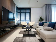 Contemporary Minimalistic Living Room@The Vyne 19