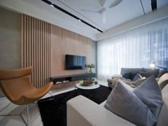 Minimalistic Modern Living Room@Fairfield 21