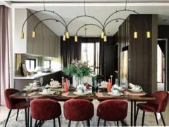 Modern Rustic Dining Room Kitchen@Jadehills