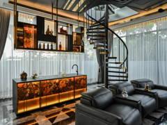 Retro Scandinavian Dining Room Kitchen@The Exquisite Lounge