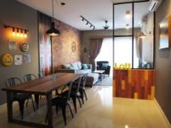 Industrial Dining Room Living Room@G Residence, Desa Pandan
