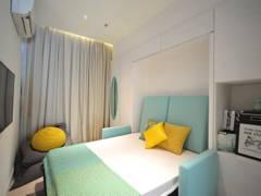 Scandinavian Bedroom@HighPark Suites