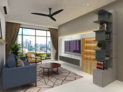 Modern Scandinavian Living Room@Project C