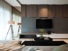 Contemporary Modern Living Room@Mutiara 85