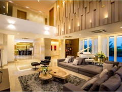 Contemporary Modern Living Room@Bungalow Sandakan