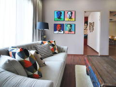 Contemporary Modern Living Room@Ipoh South Precinct Show Unit
