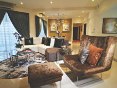 Contemporary Modern Living Room@9 Bukit Utama Show Unit (Block C)