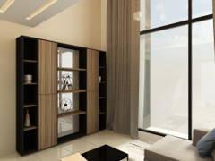 Modern Living Room@M City Residence