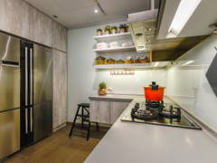 Industrial Modern Kitchen@Seringin Residences @ Happy Garden