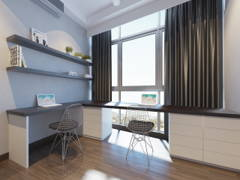 Contemporary Modern Study Room@Twins Damansara Heights Condo