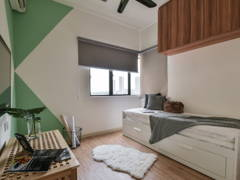 Minimalistic Scandinavian Study Room@Simplicity Home
