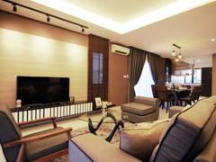 Asian Contemporary Living Room@Glomac - Show House