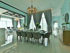 Modern Dining Room@Setia Eco Park