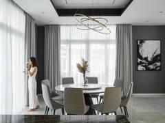 Minimalistic Dining Room@Ong's villa