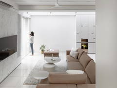 Minimalistic Modern Living Room@ABOVE THE REST - Double storey, puchong