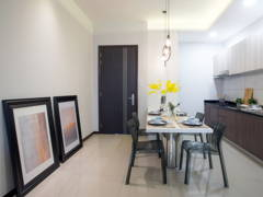 Contemporary Dining Room@The Diver Home