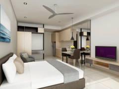 Minimalistic Modern Kitchen Living Room@Project Nadi Bangsar_Studio