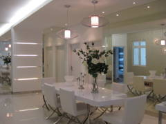 Minimalistic Modern Dining Room@Condominium 1889 Mont Kiara