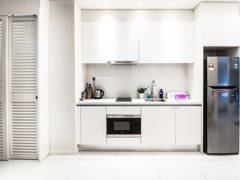 Contemporary Minimalistic Kitchen@Tribeca Suites @ Bukit Bintang