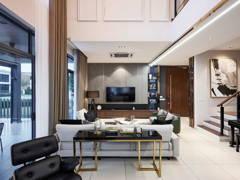 Contemporary Modern Living Room@Aeres 1